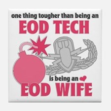 EOD Wife Tile Coaster