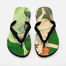 itsamonsterfinished Flip Flops