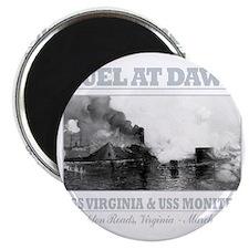 CSS Virginia vs USS Moniter (B)2 Magnet