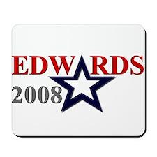 """::: John Edwards - """"A"""" Star ::: Mousepad"""