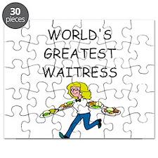 WAITRESS joke Puzzle