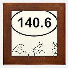 140 Oval w figures 1 Framed Tile