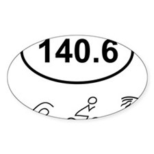 140 Oval w figures 1 Decal