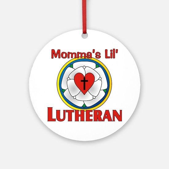 Lil Lutheran Round Ornament