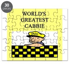 funny jokes cabbie Puzzle