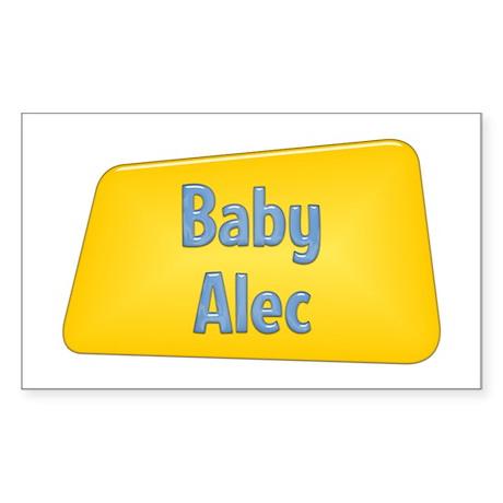 Baby Alec Rectangle Sticker