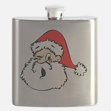 Santa Wink Flask