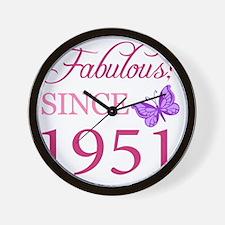 ButterflyA1951 Wall Clock