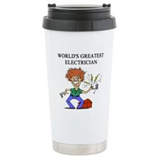 worlds greatest electrician Thermos Mug