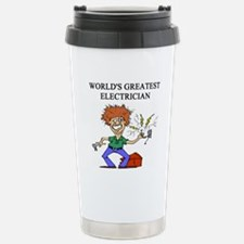 worlds greatest electrician Travel Mug