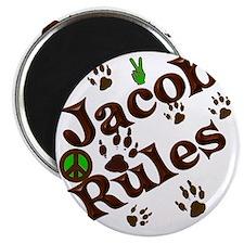 Jacob Rules Blanket Magnet