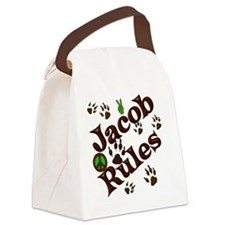 Jacob Rules Blanket Canvas Lunch Bag