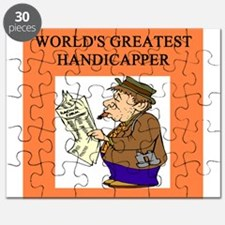 worlds greatest handicapper horse player Puzzle