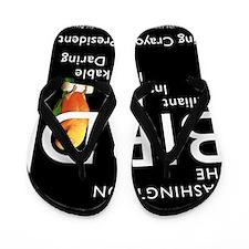 BIRDS_WHITE_TSHIRT_FINAL Flip Flops