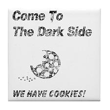We Have Cookies vintage Tile Coaster