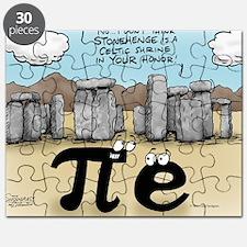Pi_57 Stonehenge (10x10 Color) Puzzle