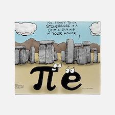 Pi_57 Stonehenge (10x10 Color) Throw Blanket
