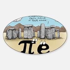 Pi_57 Stonehenge (10x10 Color) Decal