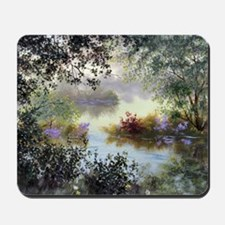 morning splendor throw pillow Mousepad