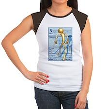 On Crutches Women's Cap Sleeve T-Shirt