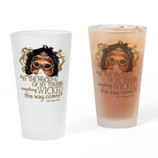 macbeth-blanket Drinking Glass