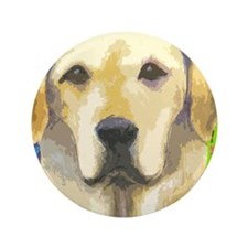 "yellow lab cafepress 3.5"" Button"