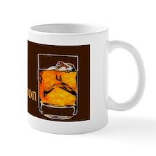 Carpe Bourbon Print Mug