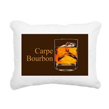 Carpe Bourbon Oval Rectangular Canvas Pillow