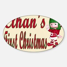 Ethans first Christmas Decal
