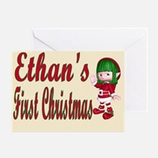 Ethans first Christmas Greeting Card