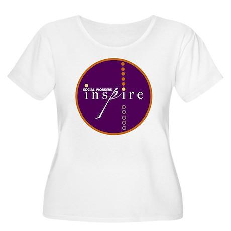 2010-SWM-Logo Women's Plus Size Scoop Neck T-Shirt