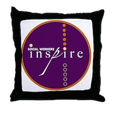 2010-SWM-Logo-CircleOnly Throw Pillow