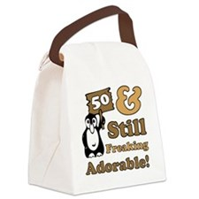 Adorable50 Canvas Lunch Bag