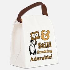 Adorable50 Canvas Lunch Bag