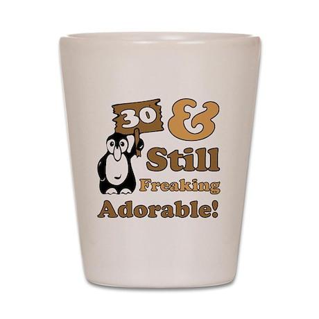 Adorable30 Shot Glass