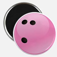 Pink Bowling Ball Magnet
