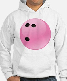 Pink Bowling Ball Hoodie