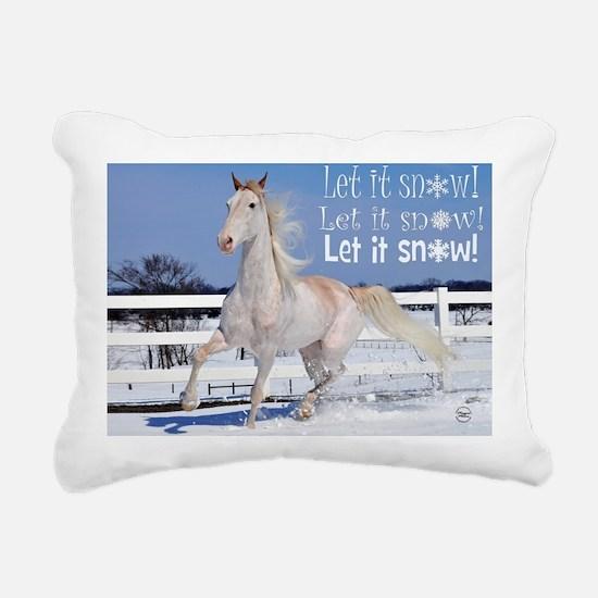 roan_7.5card3 Rectangular Canvas Pillow