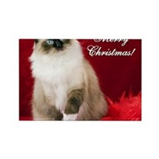 Maddie Merry Christmas Tile Coast Rectangle Magnet