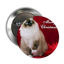 "Maddie Merry Christmas Tile Coaster 2.25"" Button"