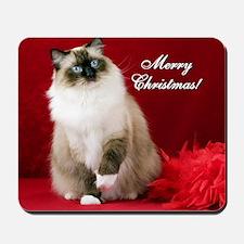 Maddie Merry Christmas Tile Coaster Mousepad