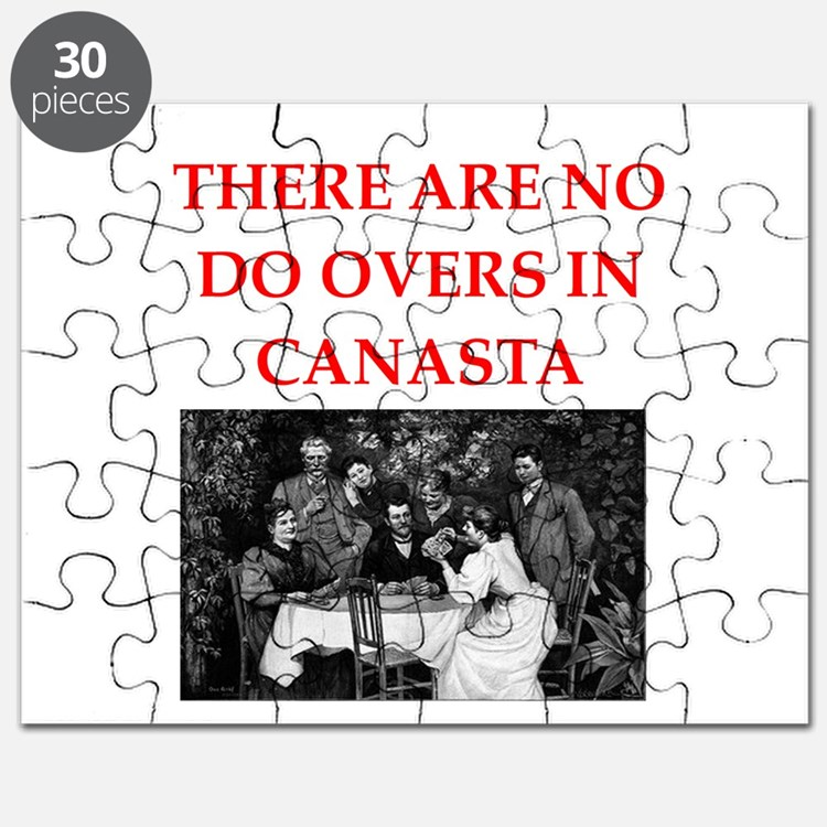 CANASTA. gifts t-shirts Puzzle