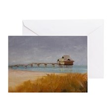 Florida Pier 60 Greeting Card