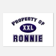 Property of ronnie Postcards (Package of 8)