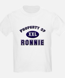 Property of ronnie Kids T-Shirt
