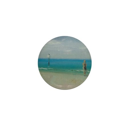 Florida Wind Mini Button