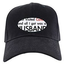 HB I Visited Canada Husband Baseball Hat