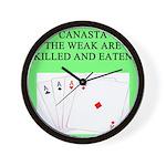canasta queen Wall Clock