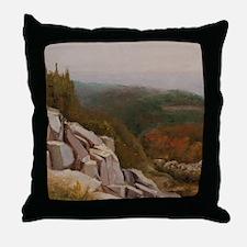 View from Carlton Peak Throw Pillow