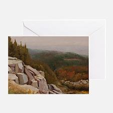 View from Carlton Peak Greeting Card
